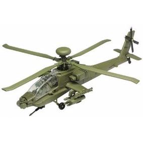 Helicoptero Ah-64 Longbow Apache Escala 1/48 Motor Max