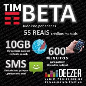 Tim-beta Convite Ou Migração 10gb+600min Evolui P/20gb+2000m