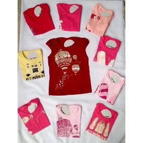 Kit 40 Blusas Feminina Infantil 8 Meses A 12 Anos