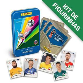 Kit De Figurinhas Copa Do Mundo Rússia 2018 + Lata Samara
