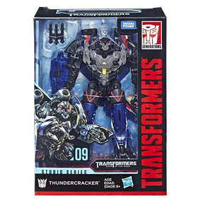 Figura Thundercracker Transformers Studios Series