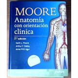 Libro De Anatomía: Moore Anatomía (7ma Edición)