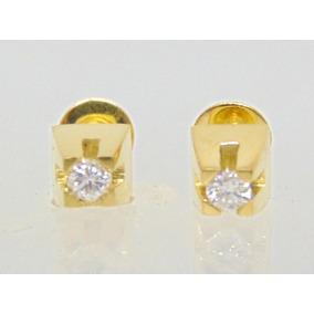 Brincos Ouro E Diamantes De 16 Pontos Cada - Joias e Relógios no ... 19e1435fe1
