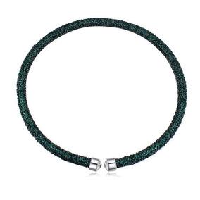 Collar Con Cristales, Ocean Heart Oh17-89