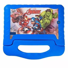 Tablet Multilaser Disney Avengers Plus Nb280 8gb Azul Outlet