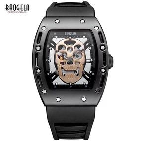 10cd7af46e2 Relogio Richard Mille Skull Dourado Outras Marcas - Relógios De ...
