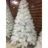 Árbol De Navidad Blanco 2.1 Metros - Oferta