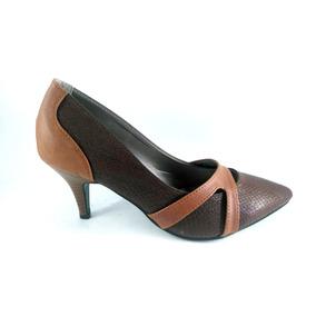 Zapatos Taco Aguja - Zapatos de Mujer Marrón en Mercado Libre Uruguay af7eb9f03511
