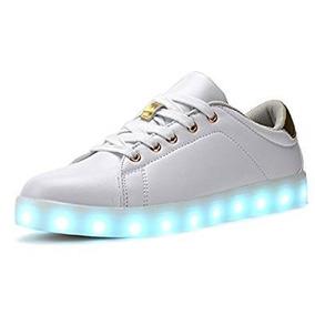 Tenis Led Coodo Cd2002 7-color-lights Usb Charging