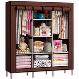 Closet Ropero Armable 3 Cuerpos 130x45x175 A24 / Pix