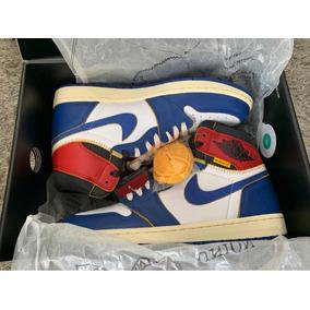 Sneakers Jordan Retro 1 Union Los Angel Blue Storm (toe)