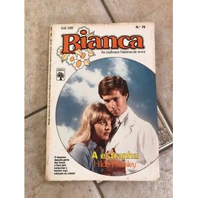 Livro De Romance Bianca Número 76 A Estranha