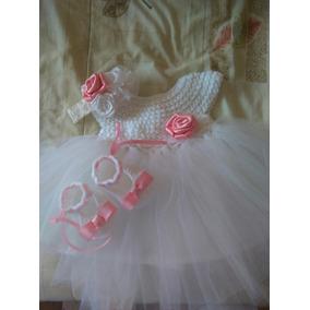 Vestido Tejido Con Tull Para Bebé 35000soberanos