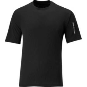 Polo Masculino Salomon - X Tee M Negro - Lifestyle