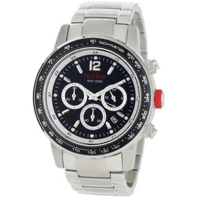 Línea Roja Hombre Reloj Cronógrafo Colección Meter Rl