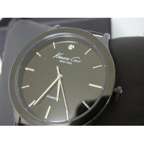 Reloj Kenneth Cole Diamond Collection Piel Elegancia Total