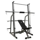 Banco De Musculação Gonew 9.0 C/ Rack