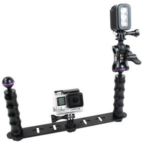 Buceo Dual Selfie Monopie Modulo Montaje Para Gopro Hero4