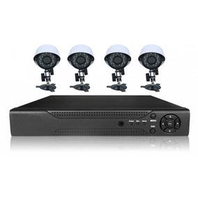 Dvr Kit Hd 4 Canais Com 4 Cameras Mango Kit Cameras Top