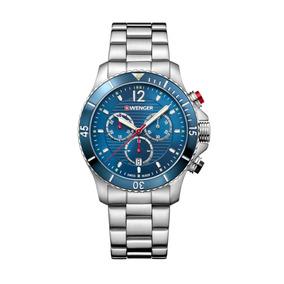 **esgotado** Relógio Wenger Seaforce Chrono Azul