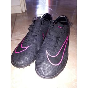 9e9f4a4faf Botines Mercurial Negro Con Rosado - Botines Nike para Adulto, Usado ...