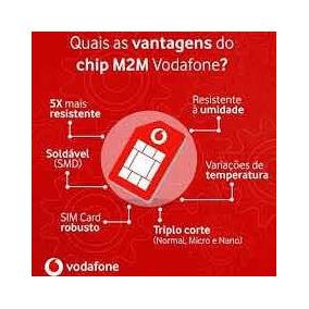 Chip M2m Vodafone Ilimitado