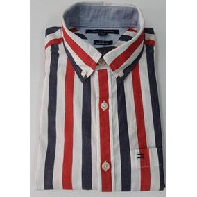 Camisa Tommy Hilfiger Slim Fit - Ropa y Accesorios en Mercado Libre ... 500a21e8a59