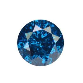 Diamante Azul Certificado .20 Quilates3.62x2.23mm