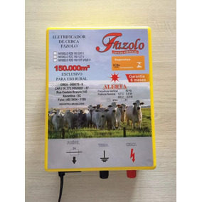 Cerca Elétrica Fazolo 150.000m² Luz110/220v