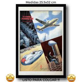 485ec360cfd50 Cuadro Anuncio Rusia Retro Canvas Tela Arte Vintage Pulp Dec