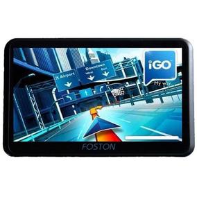 Gps Foston Fs-790gt - Av - Tv Digital - Camera De Ré - Novo