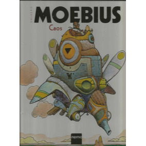 Colecao Moebius Caos - Nemo - Bonellihq Cx363 G18