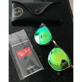 3ec52d456 Óculos De Sol Ray-Ban Clubmaster em Santa Catarina no Mercado Livre ...