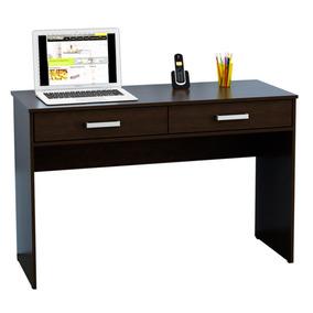 Escritorio Mueble Oficina Pc Con 2 Cajones Mesa Computación
