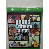 Gta San Andreas Xbox 360/one Nuevo Y Sellado (en D3 Gamers)