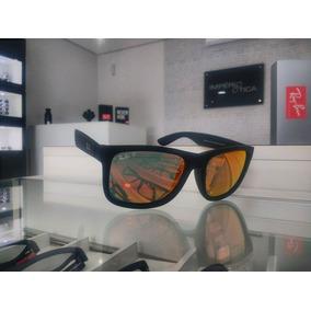 12e919e455005 Armação Ray Ban Justin Rb4165 Preto Fosco - Óculos no Mercado Livre ...
