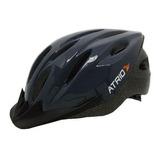 Capacete Ciclista Mtb Led Tam. M G Unissex Bike Bi136 Bi137