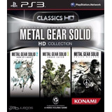 Metal Gear Solid Hd Collection ~ Ps3 Digital Español