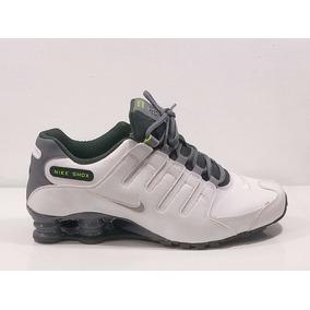 half off 205b2 cda81 Tenis Nike Shox Blancos