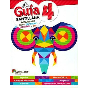 Kit Guia Santillana 4 Prim. (c/guia+mat.gen+pocas+alas)