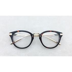 1b8885b359080 Armação Óculos De Grau Fem Nerd Redondo Imperdível A038