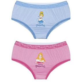 Kit Calcinhas Princesas Disney E - Moda Íntima e Lingerie no Mercado ... ad63cabef7f