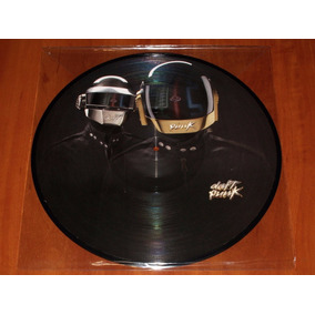 Daft Punk Lp Picture Disc Tron Legacy Part.4 Novo Raro Imp.
