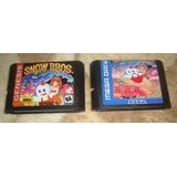 Snow Bros Re-pro Para Sega Genesis
