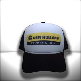 d4bb2c0f1b185 Boné New Holland Construction Preto E Branco Frete Grátis · R  65 99