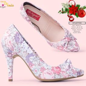 Zapatos Para Dama De Fiesta Taco Bajo - Calzados - Mercado Libre Ecuador 35e90f054a16