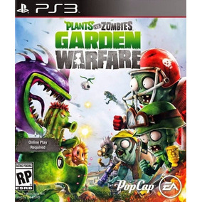 Plants Vs Zombies Garden Warfare - Português - Ps3 - Psn