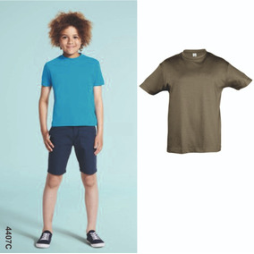 Molde Camiseta Básica Infantil Masculina Peça Piloto Aprov