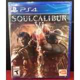 Soul Calibur Vi 6 Juego Ps4 Nuevo Y Sellado