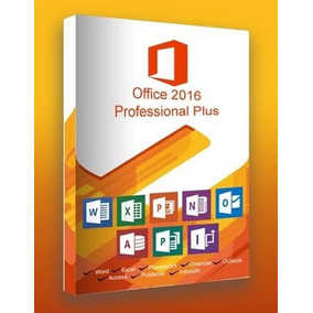 Pacote Office 2016 Pro Plus Chave Licença Original
